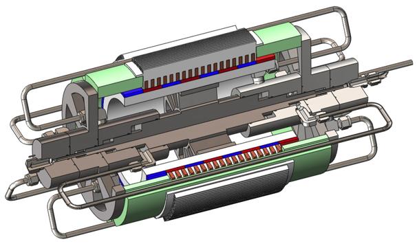 Linear Comprresor Solid Model