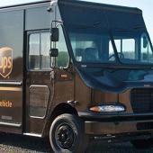 UPS Delivery Van